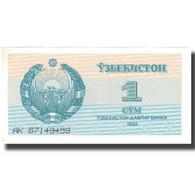 Billet, Uzbekistan, 1 Sum, 1992, 1992, KM:61a, SPL - Ouzbékistan