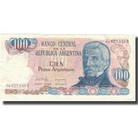 Billet, Argentine, 100 Pesos Argentinos, Undated (1983-85), KM:315a, TTB - Argentine