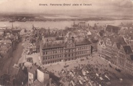 ANVERS -PANORAMA -GRAND PLACE  ET ESCAUT - Antwerpen