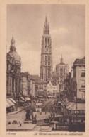 ANVERS - CANAL  AU SUCRE ET LA CATHEDRALE - Antwerpen