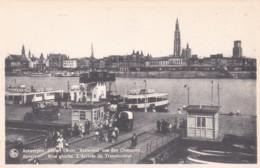 ANVERS - RIVER GAUCHE. L'ARRIVEE DU TRANSBORDEUR - Antwerpen