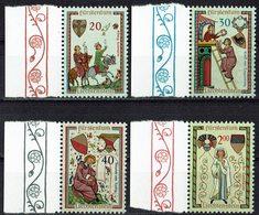 Liechtenstein 1962 // Mi. 420/423 ** - Liechtenstein