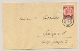 Deutsches Reich - 1940 - 12Pf Geburtstag Hitler On Cover From Hannover - Duitsland