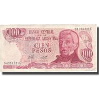 Billet, Argentine, 100 Pesos, Undated (1976-78), KM:302a, TTB - Argentine