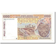 Billet, West African States, 1000 Francs, 1998, KM:711Kh, SUP - Stati Dell'Africa Occidentale