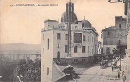 Afrique Algérie  CONSTANTINE La Nouvelle Medersa (- Edition Mélix 49  (Félix))  *PRIX FIXE - Constantine