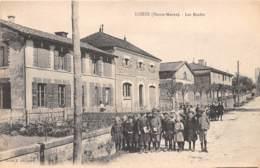 52 - Haute Marne / 10017 - Louze - Les écoles - Beau Cliché Animé - France
