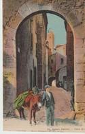 C. P. A. -  VENCE - PORTE D'ORIENT - 14 - L. L. - CAGNOLI - ANIMÉE - ÂNE - Vence