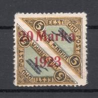 Estland Estonia 1923 Michel 44 A * - Estonie