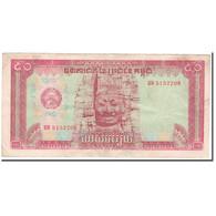 Billet, Cambodge, 50 Riels, KM:32a, TB - Cambodge