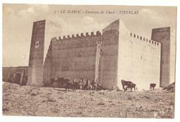CPSM. Maroc. Tiferlal. Kasbah Aux Environs De Tiznit. 1920. - Altri