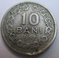ROMANIA 10 BANI 1952 KM# 84.1 - Roumanie