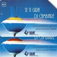 *ITALIA: SE TI GIRA DI CAMBIARE* - Scheda Usata (variante NON CATALOGATA) - Italië
