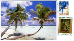 POLYNESIE FRANCAISE  TAHITI  Paysage Féérique  Nice Stamps - Polinesia Francese