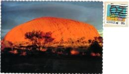 AUSTRALIA  ULURU  Ayers Rock  Nice Stamp Living Together - Uluru & The Olgas