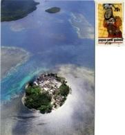 PAPUA NEW GUINEA  MOROBE  Umboi Island  Nice Stamp - Papua Nuova Guinea