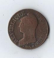 Monnaie, France, 5 Centimes AA - 1789-1795 Franz. Revolution