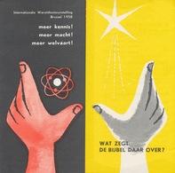 Internationale Wereldtentoonstelling Brussel 1958 - Bijbel - Oude Documenten