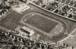 Germany, SINDELFINGEN, Floschen-Stadion, Stadium Aerial View (1950s) RPPC - Sindelfingen