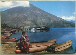 Postcard Circulated San Pedro Volcano 1972, Red Cross Stamp - Guatemala