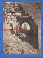 Photo Ancienne D'un Poilu - VILLEMONTOIRE (Aisne) - Intérieur De L'Eglise - 1918 WW1 Soldat Poilu - Guerre, Militaire
