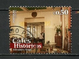 Portugal 2017 Y&T N°(2) - Michel N°4314 (o) - 0,50€ Café Historique - Oblitérés