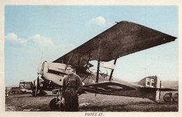 Potez 27  -  Carte Postale - 1919-1938: Entre Guerres