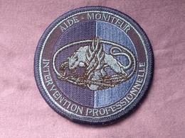 Écusson Gendarmerie Aide-Moniteur Intervention Professionnelle N°14 - Ecussons Tissu