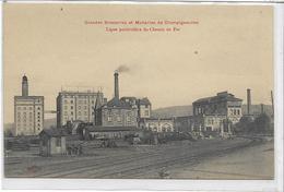 54 CHAMPIGNEULLES . Grandes Brasseries , Chemin De Fer Particulier , édit :  , Années 10 , état Extra - Andere Gemeenten
