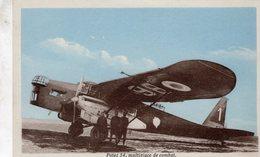 Potez 54  -  Multiplace De Combat  -  Carte Postale - 1919-1938: Entre Guerres