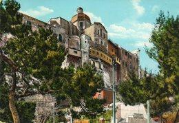1961 CARTOLINA CON ANNULLO CAGLIARI   + TARGHETTA - Cagliari