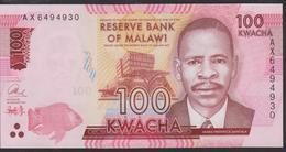 Malawi 100 Kwacha 2016 P65b UNC - Malawi