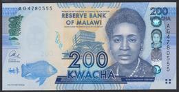 Malawi 200 Kwacha 2013 P60b UNC - Malawi
