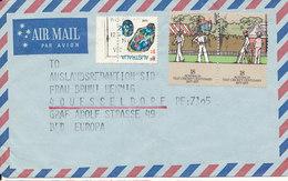 Australia Air Mail Cover Sent To Germany 1977 - Posta Aerea