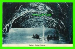 CAPRI, IT - GROTTA AZZURRA - ANIMATED - ED. DITTA D. TRAMPETTI - - Italie