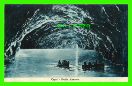 CAPRI, IT - GROTTA AZZURRA - ANIMATED - ED. DITTA D. TRAMPETTI - - Autres Villes