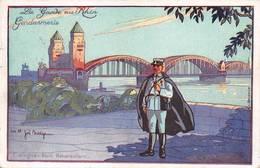 Köln Gendarmerie Illustrateur Baubaut Joë Bridge - Köln