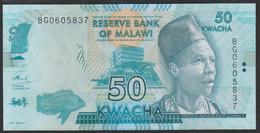 Malawi 50 Kwacha 2017p64d UNC - Malawi
