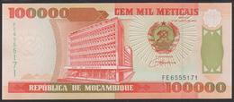 Mozambique 100000 Meticais 1993 P139 UNC - Mozambique