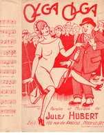 CAF CONC PARTITION OLGA OLGA JULES HUBERT 1927 ILL PAUL GERMY - Autres