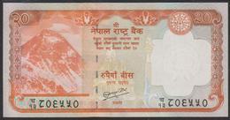 Nepal 20 Rupees 2010 P62b UNC - Népal