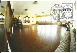 Faro - Algarve - Portugal Postal Máximo 120 Anos Ginásio Clube Sala De Festas Cultura Música Militar Maximum Maxicard - Cartes-maximum (CM)
