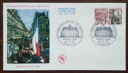 FDC 1964 - YT N°1410 - LIBERATION - PARIS - FDC