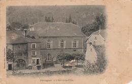 Haute-saone : FAUCOGNEY : L' Hotel De Ville ( Angle Bas Droit Manquant ) - France