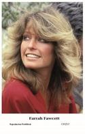 FARRAH FAWCETT - Film Star Pin Up PHOTO POSTCARD- Publisher Swiftsure 2000 (C37/17) - Postales