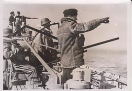 GELEITZUG SICHERUNG FLAK SCHNELLBOOT  KRIEGSMARINE FOTO DE PRESSE WW2 WWII WORLD WAR 2 WELTKRIEG Kriegsmarine - Schiffe