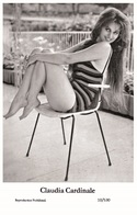 CLAUDIA CARDINALE - Film Star Pin Up PHOTO POSTCARD- Publisher Swiftsure 2000 (10/530) - Postales