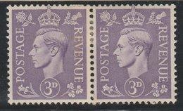 GVI -SG490. 3d Pale Violet. Q17f. Coil Pair Join. - 1902-1951 (Könige)