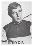 CARTE CYCLISME T. STOCKER TEAM TIGRA 1972 - Cyclisme