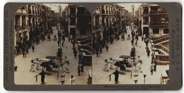 Stereo-Fotografie R. Y. Young, Ansicht Hong Kong, European Ladies Shopping - Stereo-Photographie